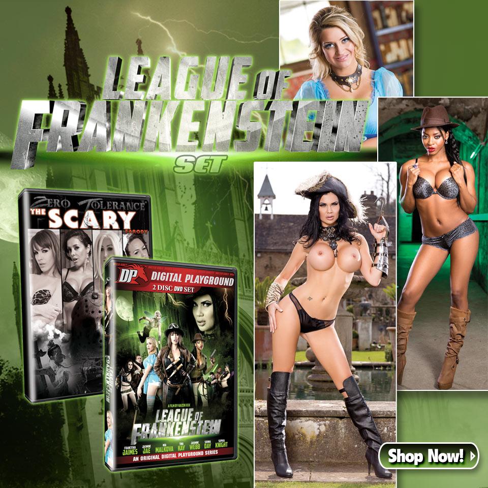 The League of Frankenstein Set