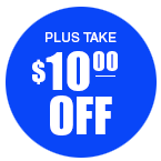 $10.00 off your next order!