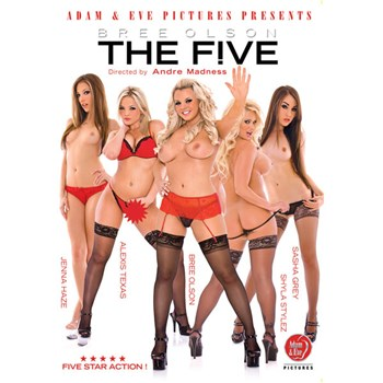 bree olsons the five dvd