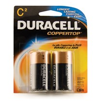 C Cell Batteries (2 pack)