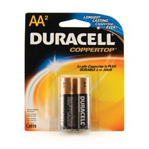 Duracell AA Batteries (2 pack)