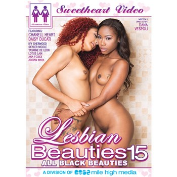 Lesbian Beauties 15: All Black Beauties
