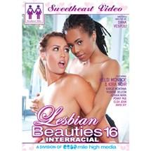 Lesbian Beauties 16: Interracial Beauties