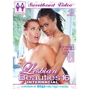 Lesbian Beauties 16: Interracial Beauties