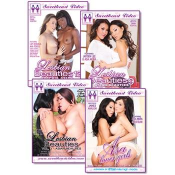 asian lesbians 4 pack