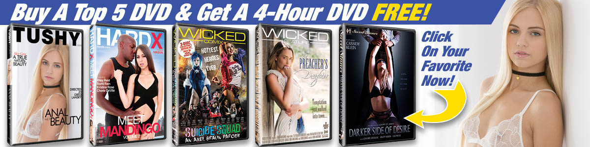 Buy a Top 5 DVD & Get a 4-Hour DVD FREE!