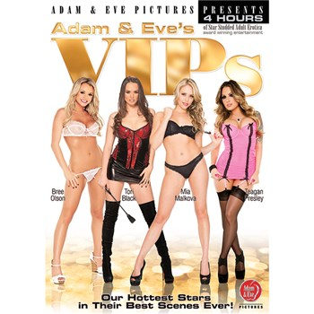 Four VIP Adult Movie Stars
