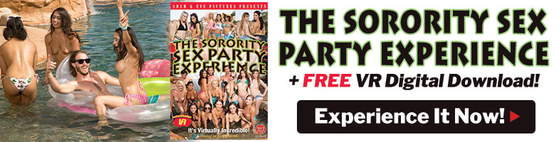 Get The Sorority Sex Party Experience with a FREE VR Digital Download!