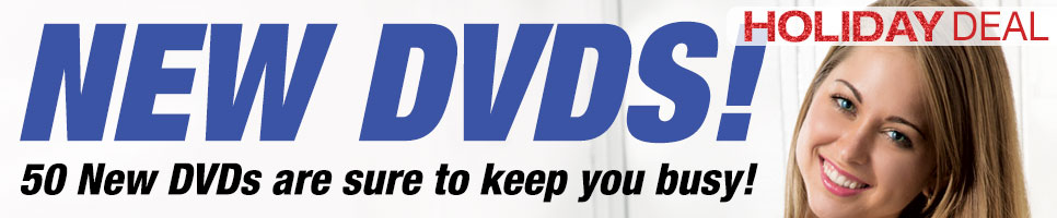 50 New DVDs are sure to keep you busy!