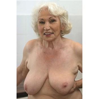 Blonde female topless