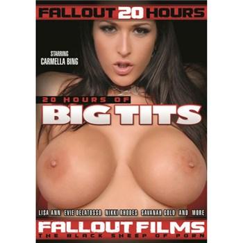 Brunette female topless Big tits