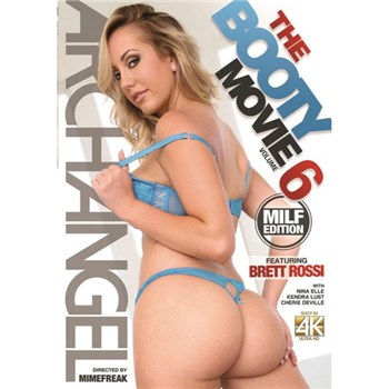 Blonde female in lingerie backside view