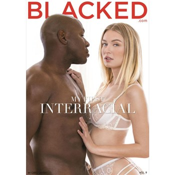 Blonde female in lingerie with male Blacked