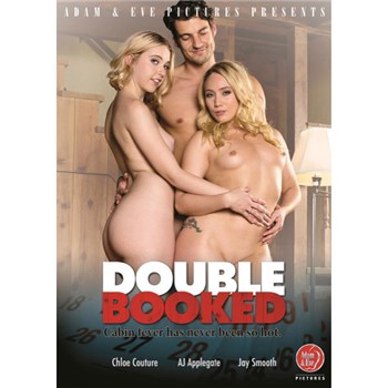 Two blonde females with male double trouble