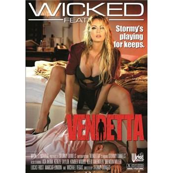 Blonde female in lingerie Vendetta