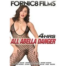 Brunette female in net body suit All Abella Danger