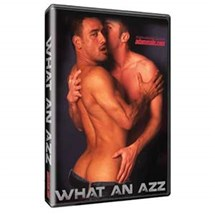Two males kissing What An Azz