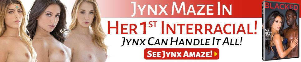 Jynx Maze In Her 1st Interracial!