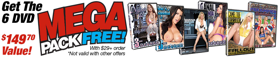 Get the 6 DVD MEGA PACK free with $29+ order!