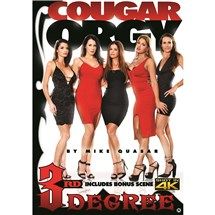 Five females in dresses Cougar Orgy