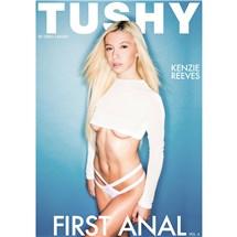 Blonde female top and panties Tushy