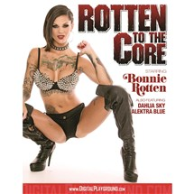 Bonnie Rottenwearing lingerie and boots Rotten to the core