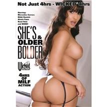 Brunette female nude back view Older and bolder