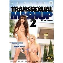 Two topless TS females TS Mashup