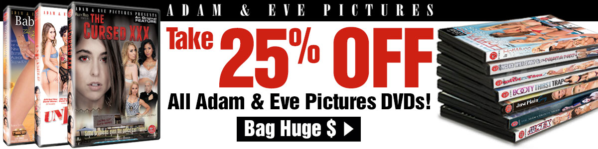 Take 25% off Adam & Eve Pictures DVDs!