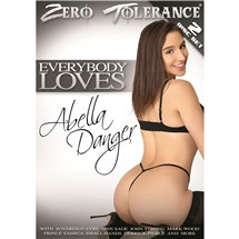 Brunette female wearing lingerie rear view Abella Danger