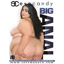 Brunette female nude revealing backside Big Anal