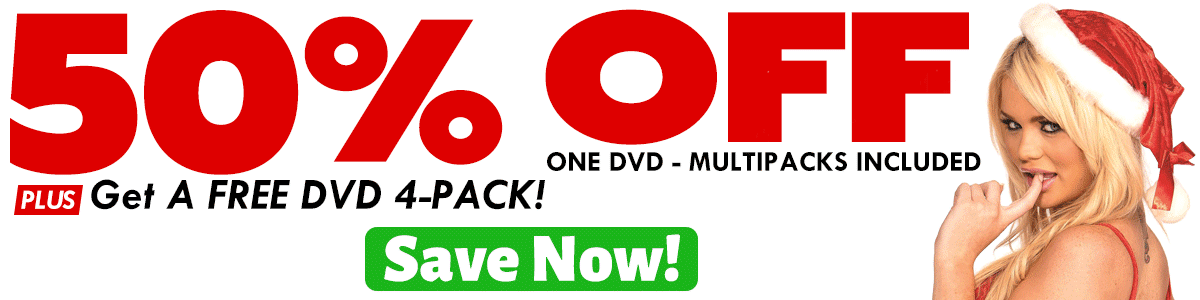 Get 50% Off One DVD -- Multipacks Included + Get a FREE DVD 4-Pack!