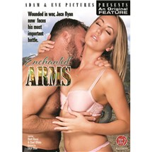 Blonde female wearing lingerie caressing male Enchanted Arms