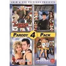Parody four pack box covers
