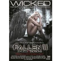 Nude female as angel Fallen 2