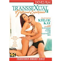 Transexula female wearing lingerie hugging male