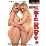 Two blonde females posing nude displaying buttocks