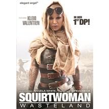 Blonde female future world costume Squirtwoman