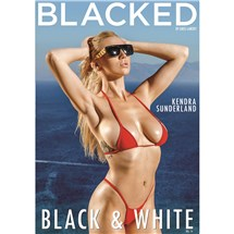 Blonde female posed wearing bikini Blacked