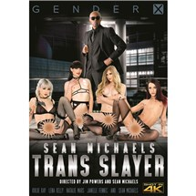 Four TSfemales wearing lingerie with male wearing suit sean michaels trans slayer