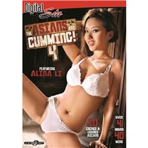 Brunette female wearing lingerie asians are cumming 4