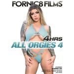 Blonde female posed wearing lingerie all orgies 4