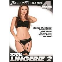Brunette female posed wearing lingerie  total lingerie