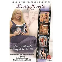 Blonde female reading book Erotic Novels