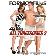 Topless male posed with two clothed females all threesomes 2