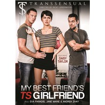 TS female clothed posed with two clothed males my bestfriend's TS girlfriend