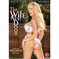 Blonde female posed wearing lingerie rear view wife next door