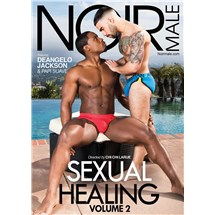 Two males caressing wearing only briefs sexual healing