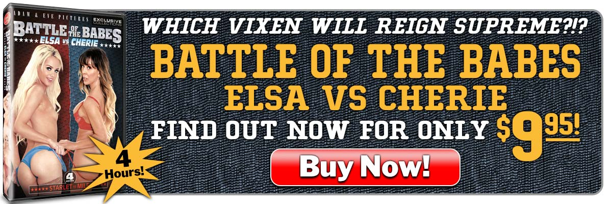 Which Vixen Will Reign Supreme?!? Get Battle Of The Babes: Elsa vs Cherie For Only $9.95!