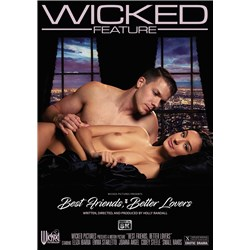 Male caressing female laying on side wicked best friends better lovers
